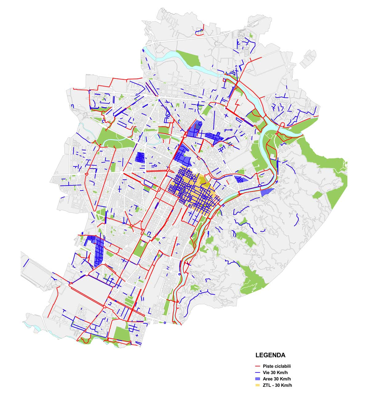 Mappa aree Torino